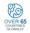Over 65 Countries Globally